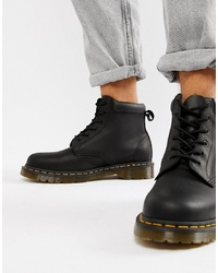 Dr. Martens 939 6 Eye Boots In Black