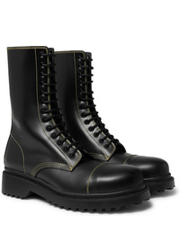 Balenciaga Cap Toe Leather Boots