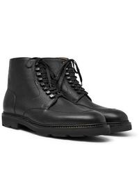 John Lobb Helston Pebble Grain Leather Boots