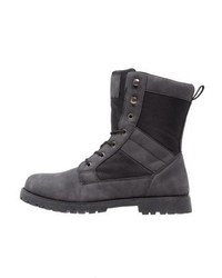 YOURTURN Lace Up Boots Black