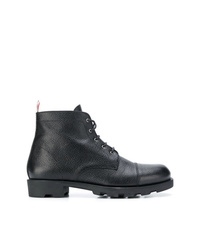 Thom Browne Panama Rubber Leather Derby Boot