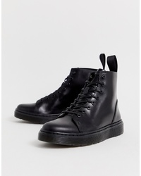 Dr. Martens Talib 8 Eye Boots In Black