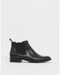 Vagabond Black Leather Chelsea Boot