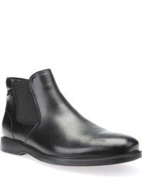 top-rated genuine new design lovely design Men's Black Leather Chelsea Boots by Geox | Men's Fashion ...