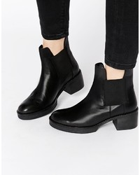 Asos Collection Royalty Leather Chelsea Ankle Boots