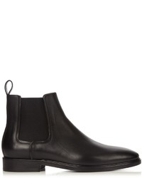 Lanvin Dual Leather Chelsea Boots