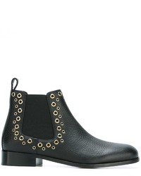 RED Valentino Eyelet Chelsea Boots