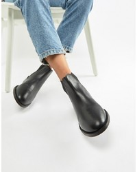Accessorize Flat Leather Chelsea Boot