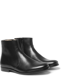 A.P.C Leather Boots H14TfEZino