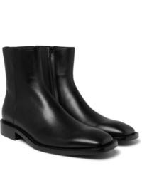 Balenciaga Polished Leather Boots