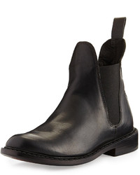 Rag and Bone Rag Bone Dartford Leather Chelsea Boot Black
