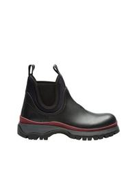 Prada Sawtooth Sole Boots