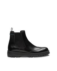 Prada Slip On Ankle Boots