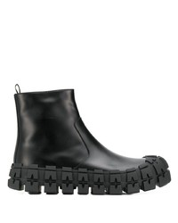 Prada Tyre Sole Ankle Boots