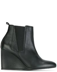 Lanvin Wedge Heel Chelsea Boots