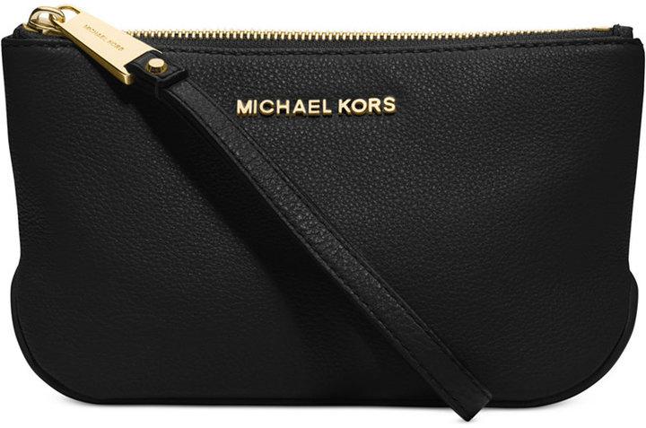 ff47ac1de56 Clutches MICHAEL Michael Kors Michl Michl Kors Rhea Zip Leather Large Pouch  ...