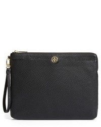 Tory Burch Robinson Leather Pouch