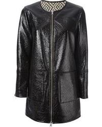 Tory Burch Faux Leather Coat