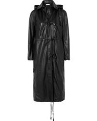 Altuzarra Marina Hooded Leather Coat