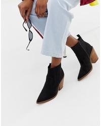 ASOS DESIGN Elliot Western Boots