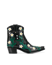 Valentino Garavani Ranch Flowers Cowboy Boots