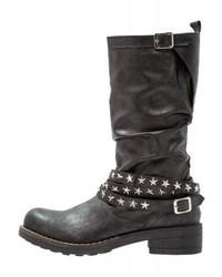 Cassis côte d'azur Laurier Cowboybiker Boots Noir