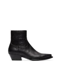 Saint Laurent Lukas 40 Cowboy Boots