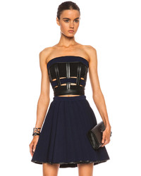 Cropped jersey viscose blend bustier medium 267735