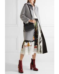 2bd4c35fe9cd3 ... Prada Esplanade Small Textured Leather Shoulder Bag Black ...