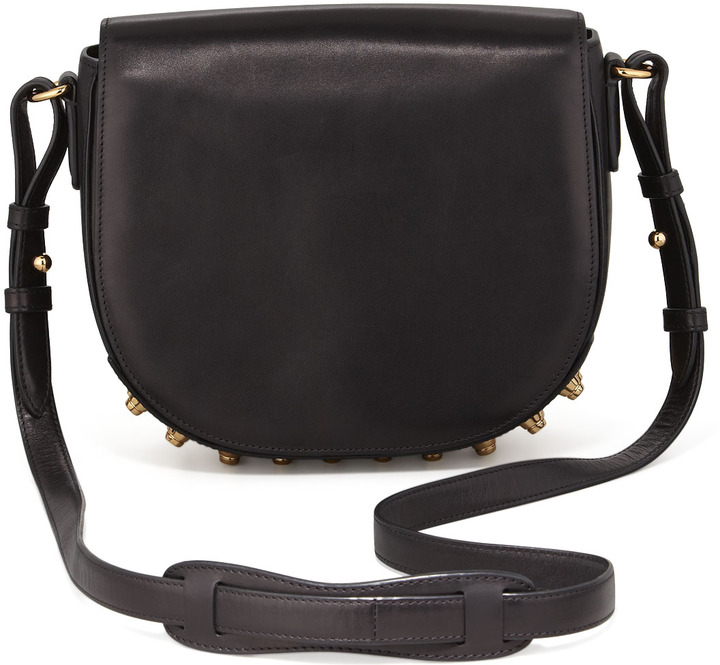 ... Alexander Wang Lia Small Leather Crossbody Bag Black ... 0f8cad710