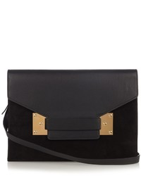 Sophie Hulme Milner Envelope Leather Shoulder Bag