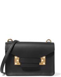 Sophie Hulme Milner Nano Leather Shoulder Bag Black