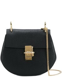 Chloé Small Drew Grained Leather Shoulder Bag