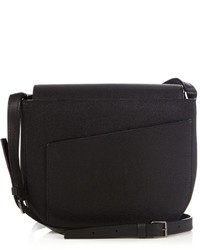 Valextra Twist Leather Cross Body Bag