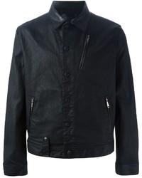 Alexander McQueen Coated Denim Jacket