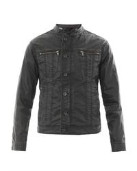 John Varvatos Star USA Coated Denim Jacket