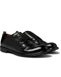 Officine Creative Anatomia Polished Leather Derby Shoes