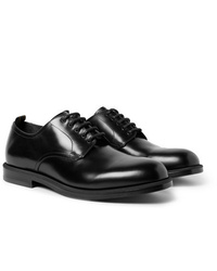 Dunhill College Polished Leather Derby Shoes