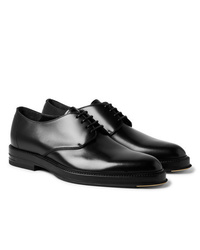 Dunhill Facet Polished Leather Derby Shoes