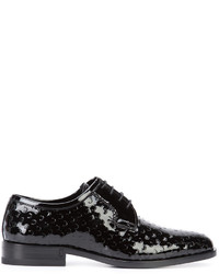Saint Laurent Patent Derby Shoes