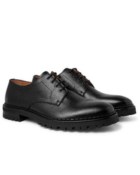 Lanvin Pebble Grain Leather Derby Shoes