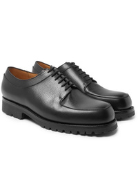 J.M. Weston Plateau Full Grain Leather Derby Shoes
