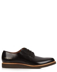 Common Projects Raised Sole Lace Up Leather Derby Shoes