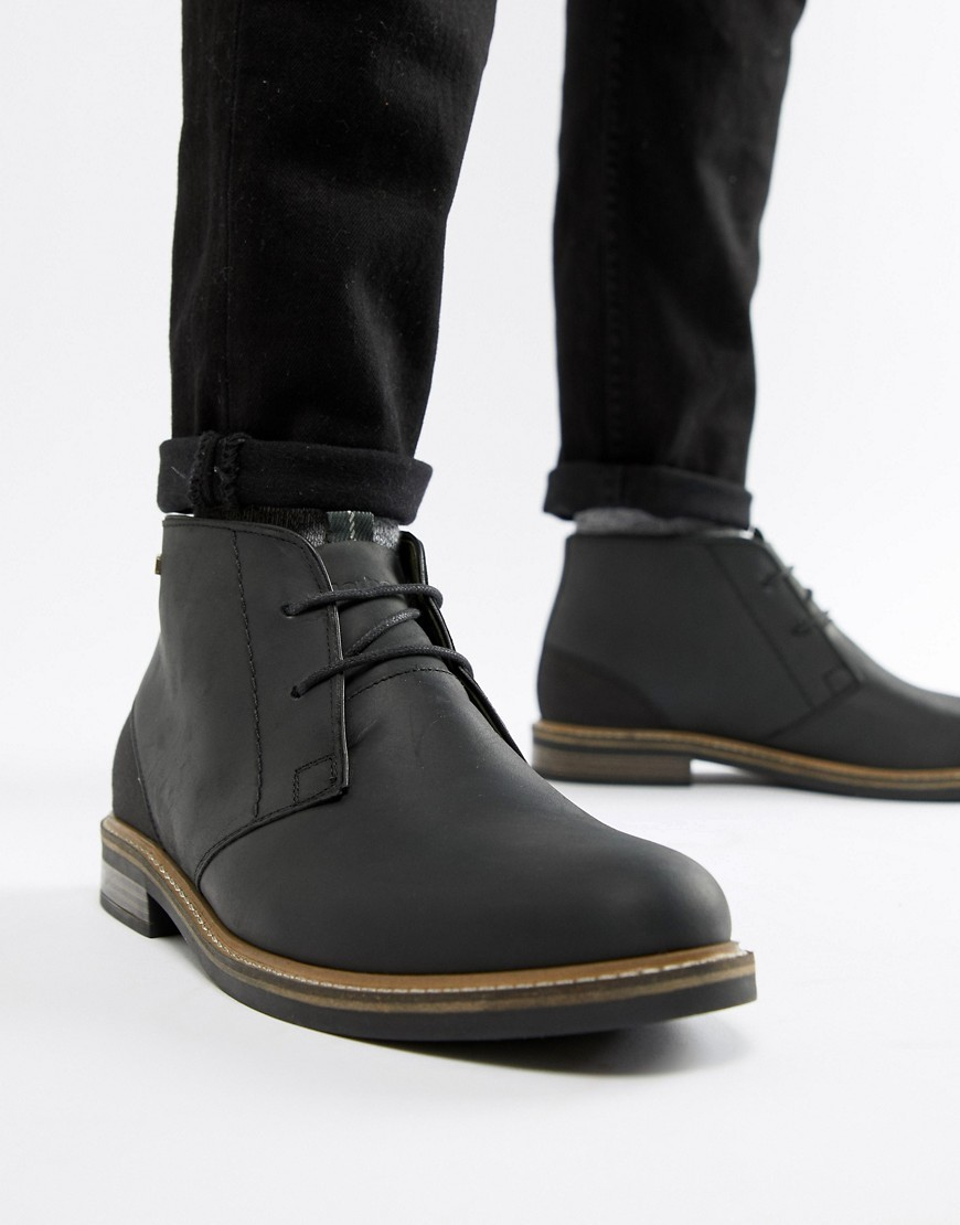 fa4da3040e9 Barbour Readhead Leather Lace Up Mid Boots In Black, £125 | Asos ...