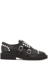 Giuseppe Zanotti Design Studded Monk Strap Shoes