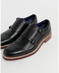 Ted Baker Ramnik Monk Shoe In Black
