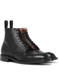 Cheaney Richmond Pebble Grain Leather Boots