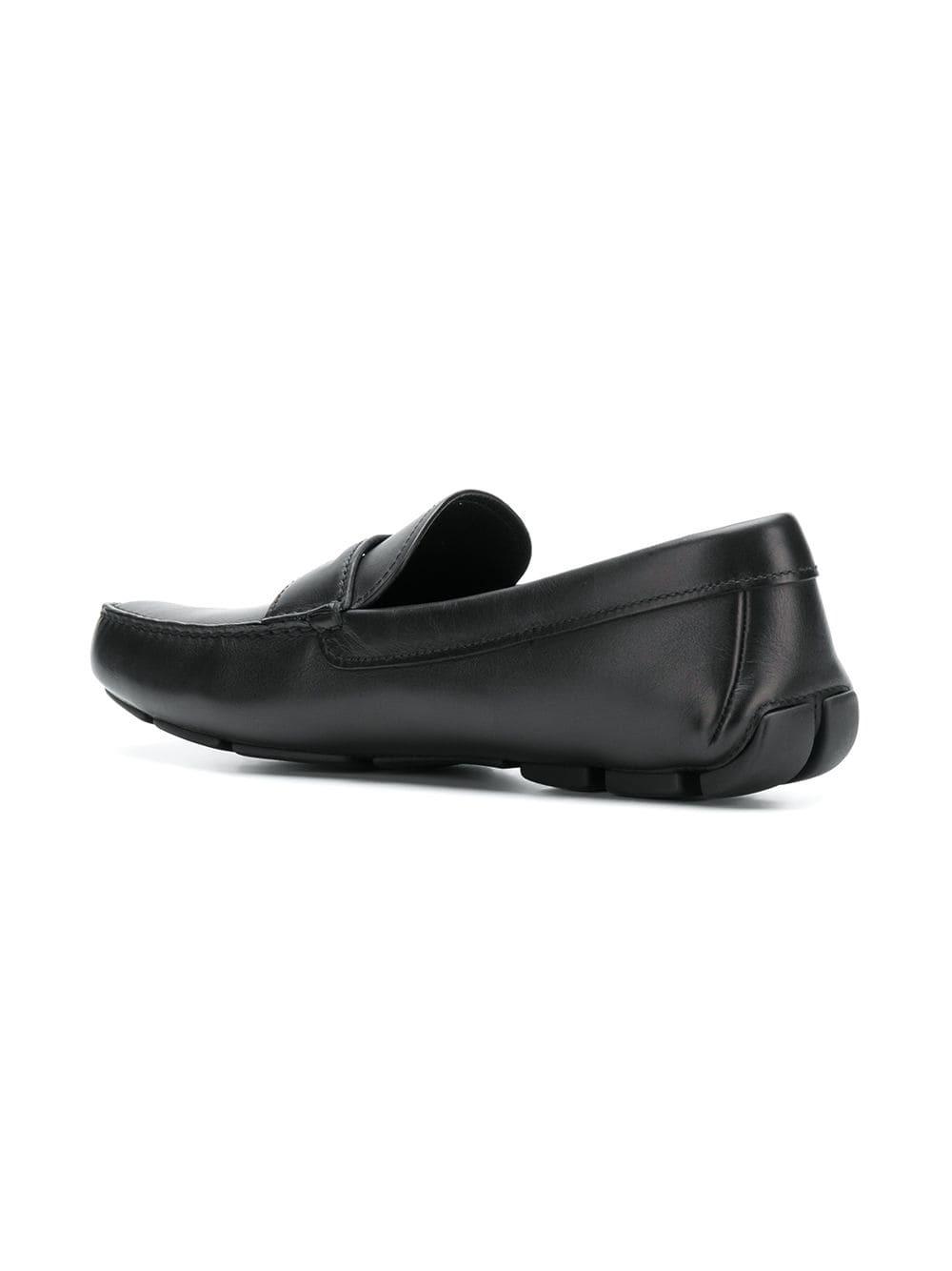 6ca1db07 £421, Prada Slip On Loafers