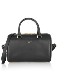 Classic duffle mini leather bag black medium 428798