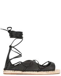 Dsquared2 Lace Up Espadrille Sandals